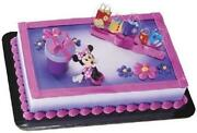 Minnie Mouse Cake Decorations