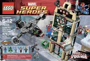 LEGO Spider-Man: Daily Bugle Showdown - RETIRED and UNOPENED