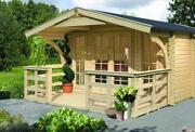 Gartenhaus 40mm