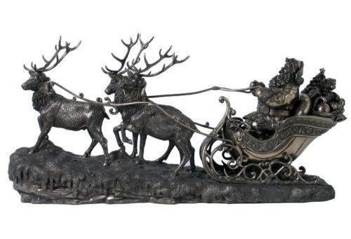 Large santa sleigh ebay