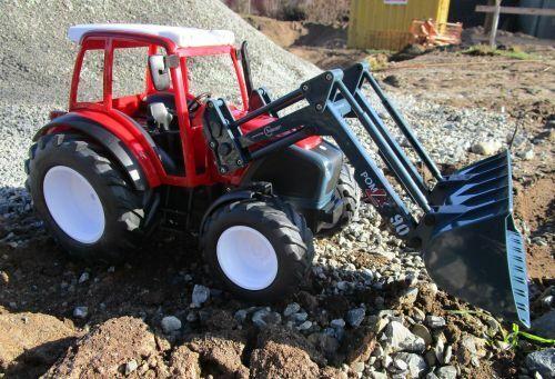 RC Traktor  Lindner Geotrac mit Frontlader 1:16 2,4GHz Ferngesteuert