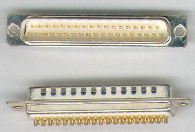 5  X SUB D-STECKER  37 POLIG  ( LÖTKELCH )  NEU