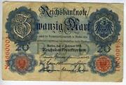 Reichsbanknote 1914