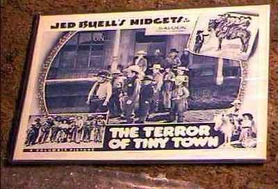 TERROR OF TINY TOWN 1938 LOBBY CARD #2 ULTRA RARE CULT BEST CARD CAST