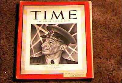 Time Magazine 1941 July 28 Fine Portal Boss Of The R A F