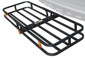 """Compact Cargo  carrier for 2"""" hitch receiver mount."""