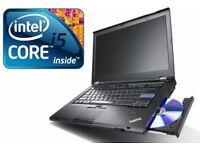 FAST Lenovo ThinkPad T420 Core i5 8GB 320GB HDD Win 10 Laptop