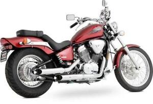 honda shadow 750 exhaust ebay. Black Bedroom Furniture Sets. Home Design Ideas