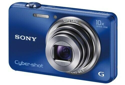 Sony Cyber-Shot DSC-WX150 18.2MP 10X Zoom Digital Camera W/Battery 4gb SD Card - $44.00