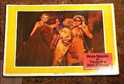 I LOVE YOU ALICE B TOKLAS '68 LOBBY CARD #7 PETER SELLERS