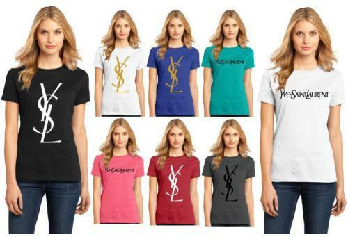 ysl t shirt ebay. Black Bedroom Furniture Sets. Home Design Ideas