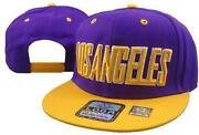 Lakers Flat Bill Hats