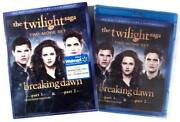 Breaking Dawn Blu Ray