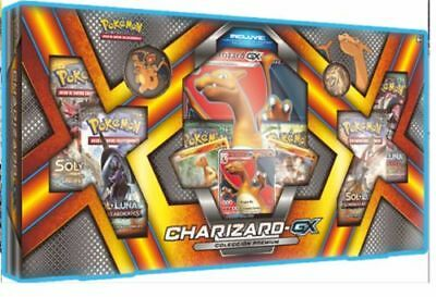 Pokemon Charizard Gx Box Premium Collection Sun Moon Burning Guardians Crimson