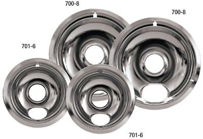 Stove Drip Pans Electric Burner Covers Top Replacement Bowls Set Cook