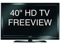 "40"" hd tv with freeview"