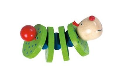 New HABA Wooden Flapsi Baby Toy, Germany, manipulative grasping clacking, used for sale  Drexel