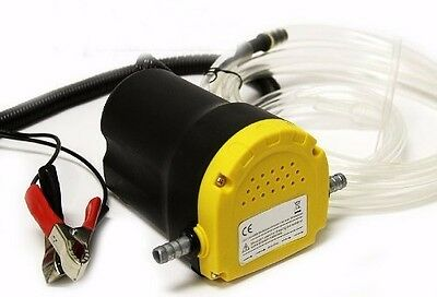 12v Fluid Oil Diesel Extractor Motor Oil Scavenge Suction Transfer Change Pump