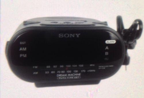 sony alarm clock hidden camera ebay. Black Bedroom Furniture Sets. Home Design Ideas