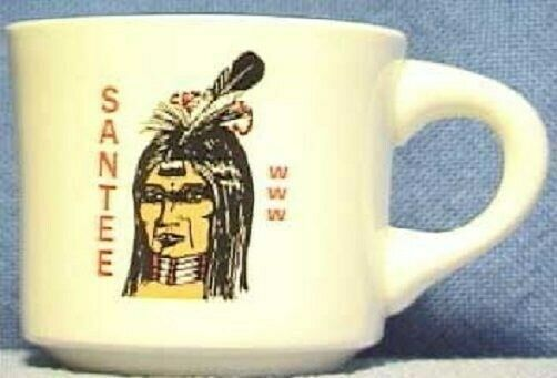 BSA Mug OA Wiatava Lodge 13 - Santee Chapter - HTF