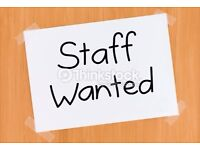 PART TIME STAFF WANTED cafe/takeaway