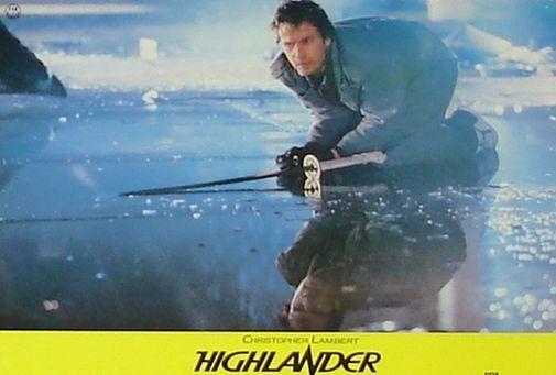 HIGHLANDER - Lobby Cards Set - Christopher Lambert, Sean Connery - VERY RARE