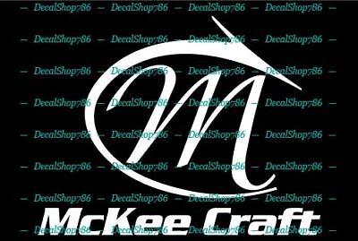 McKee Craft  - Outdoor Sports - Car/SUV/Truck Vinyl Die-Cut Peel N