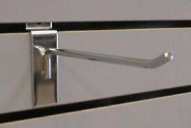 Chrome Slatwall Hooks
