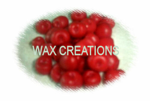 50 Wax cherries embeds,tarts,melts. Scented in:CHERRY FREE SHIPPING