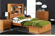 """NEED SOLD!!  King Single """"Cargo"""" bed & 2 draw bed side Dubbo Dubbo Area Preview"""
