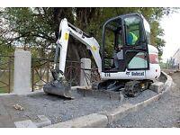 Mini / Micro Digger & Dumper Hire Hartlepool, Billingham, Stockton, Wynyard, Durham, Yarm, Seaham