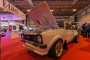 MK2 Escort GRP4 Historic Moulded Rally Race Mud Flaps