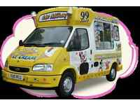 Ice Cream Driver Job Offered Both Full Time and Part Time
