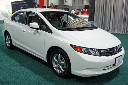 Honda CNG natural gas car