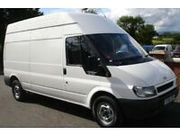 Large van available