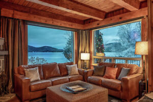 Luxury Mont Tremblant Chalet Ski/Amazing View/7Bedrms