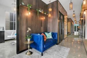 Beautiful, new treatment/salon rooms for rent in Paddington