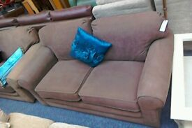 Two sofas AND one armchair #33162 £150