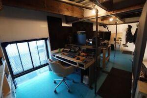 Art Studio Atelier Workshop Photo Video w/AirCon Mile Ex