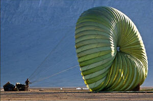 100' Cargo Parachute - Great to Cover Heavy Equipment