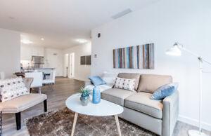 Sleek 2 bedroom suite on Jasper Ave