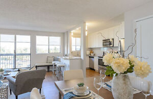 Fully renovated 2 bdrm across from King George SkyTrain