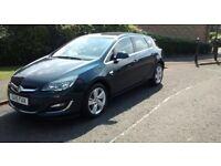 Vauxhall Astra 1.4 Sri 8000 miles 15plate still under manufacturing warranty