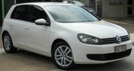 2011 Volkswagen Golf VI MY11 118TSI DSG Comfortline White 7 Speed Sports Automatic Dual Clutch Yeerongpilly Brisbane South West Preview