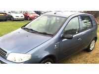 (((AUTOMATIC -LOW INSURANCE ))) FIAT PUNTO 1.2 *(2004-04 PLATE)*MOT- 1 FULL YEAR***EXCELLENT COND