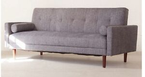 Mid-Century Style Sofa Bed - Brand New, Still in Box