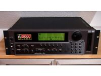 Emu E5000 Ultra classic sampler with 4.7v software and zip drive