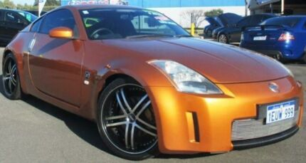 2003 Nissan 350Z Z33 Track Bronze 6 Speed Manual Coupe Hillman Rockingham Area Preview