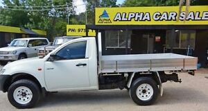 2007 Mitsubishi Triton ML MY07 GLX White 5 Speed Manual 2D CAB CHASSIS Upper Ferntree Gully Knox Area Preview