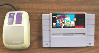 Mario Paint (with mouse!) for Super Nintendo (SNES)